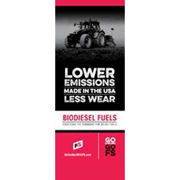 Biodiesel Pull-Up Banner - Double/Sided