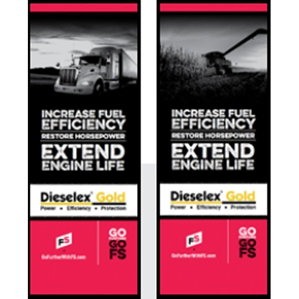 DX Gold/ DX Gold Ag Pull-Up Banner - Double/Sided