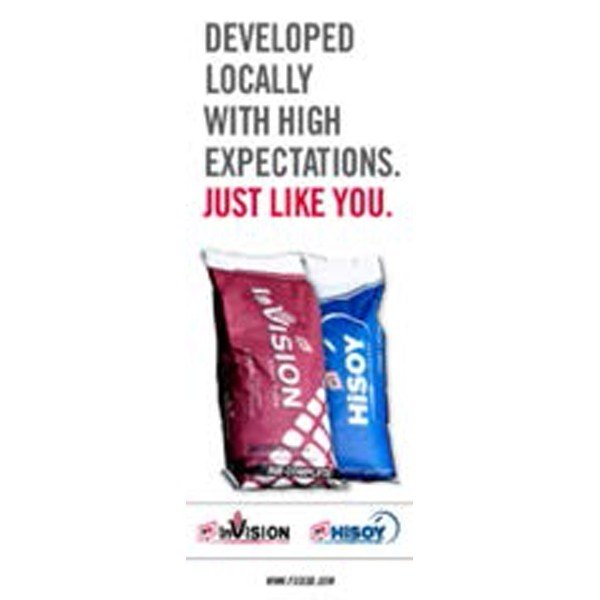 FS InVision & HiSOY Expectations Pull-Up Banner - Double/Sided