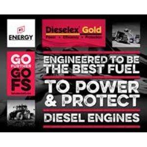Dieselex Gold Table Top Display