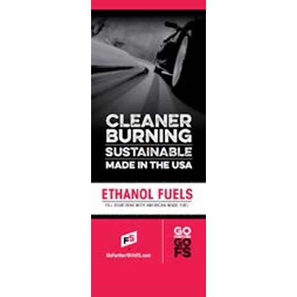 Ethanol Fuels A10713D Pull-Up Banner - Double/Sided