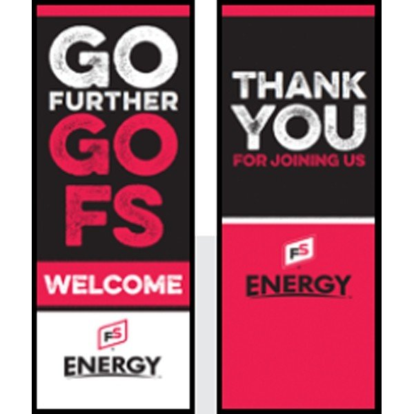 FS Energy Thank You Pull-Up Banner - Double/Sided