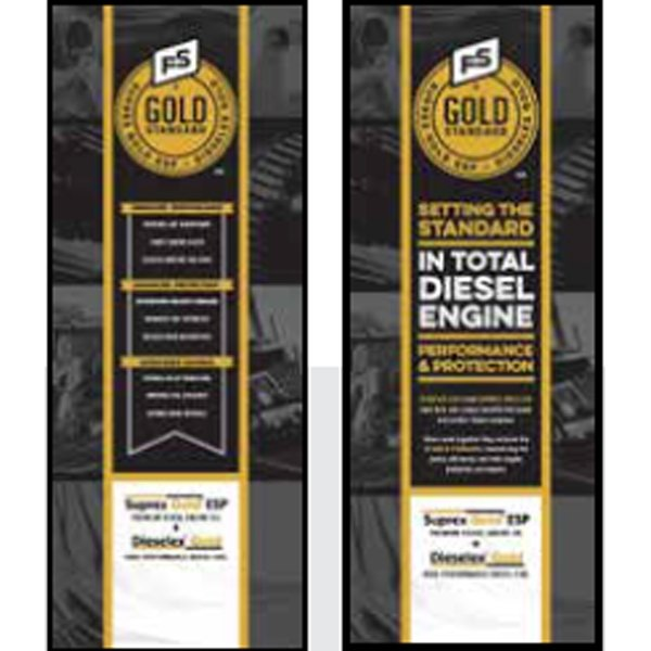 FS Gold Standard Pull-Up Banner - Double/Sided