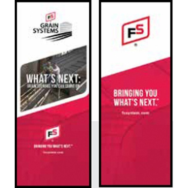 FS BYWN Grain Systems Campaign Theme Pull-Up Banner - Double/Sided