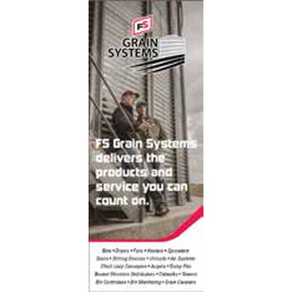 FS Grain Systems Pull-Up Banner - Single/Sided