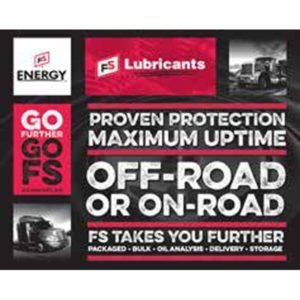 FS Lubricants Table Top Display