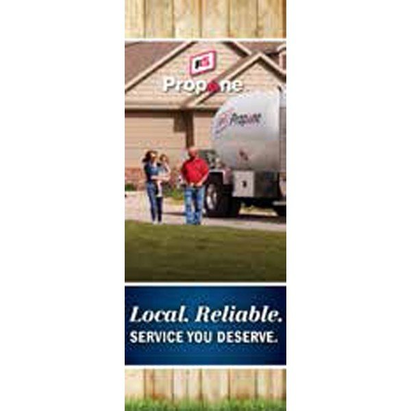 FS Propane - Residential Pull-Up Banner - Double/Sided