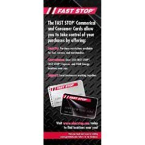 Fast Stop Pull-up Banner Double Sided