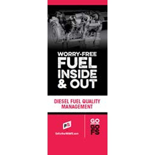 Fuel Quality Management Pull-Up Banner - Double/Sided