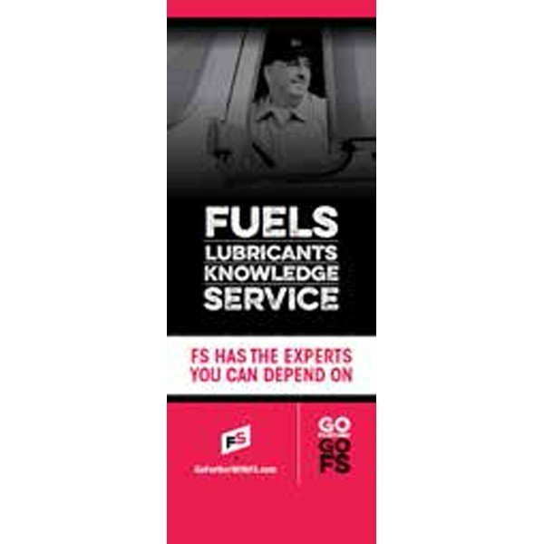 Fuels Lubricants Knowledge Service Pull-Up Banner - Double/Sided