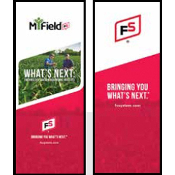 FS BYWN MiField/ Campaign Theme Pull-Up Banner - Double/Sided