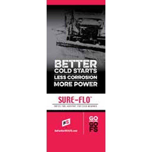 FS Sure Flo Pull-Up Banner - Double/Sided