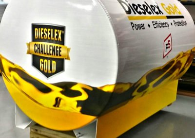 Gold-tank